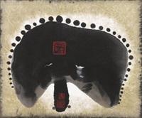 梦幻(2003) 挂轴 设色纸本 by ha bik chuen