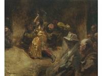 la bayadère by albert besnard