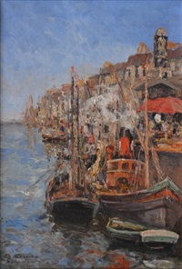 boulogne sur mer by charles cousin