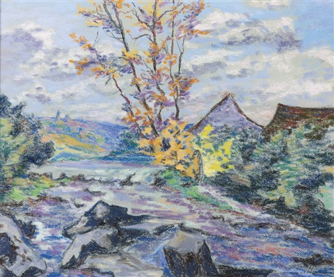 moulin bouchardon by armand guillaumin