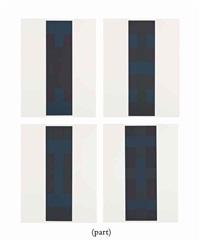 10 screenprints by ad reinhardt