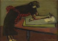 sally painting by milton avery