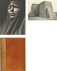 taos pueblo (bk w/12 works) by ansel adams