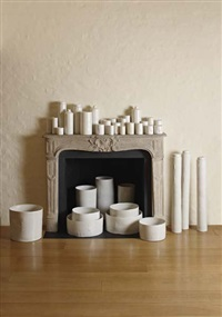 cargo of pots (set of 38) by edmund de waal