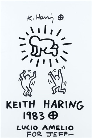 sans titre by keith haring