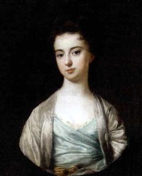 portrait of a lady by james fellowes