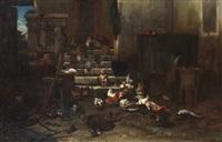 la basse cour by philibert-leon couturier