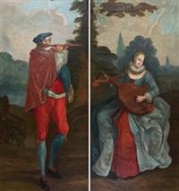 musiserende par (pair) by mathias blumenthal