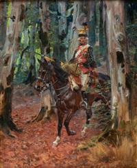 jeździec by woiciech (aldabert) ritter von kossak