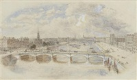 stockwell bridge by samuel bough