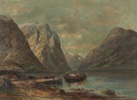 fjords by sigvald simensen