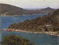 middle harbour, sydney by julian howard ashton