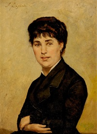 portrait de femme by stanislas lépine