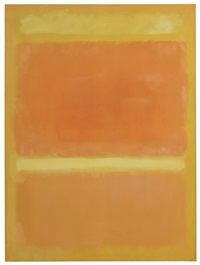 untitled (yellow, orange, yellow, light orange) by mark rothko