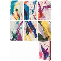cyril hodges, seeing voice welsh heart, editions de la galerie karl klinker, paris by paul jenkins