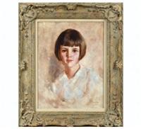 portrait of a girl by robert reid
