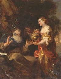 the temptation of saint anthony by johann liss