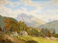 alpská krajina by bedrich wachsmann