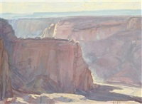afternoon, canyon de chelly by helen cozens hill