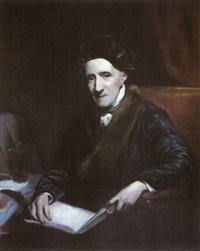 portrait du peintre james northcote by john jackson