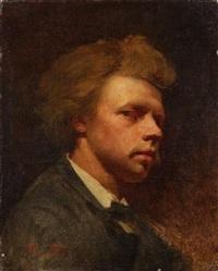 portrait of a gentleman by theodor alt