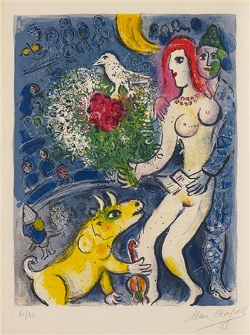 le cirque from cirque by marc chagall