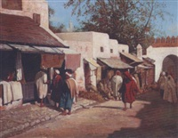 marché à tanger by adolfo aguila acosta