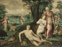 the garden of eden by frans floris the elder