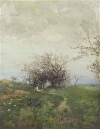 pommes en fleurs by ivan pavlovich pokhitonov