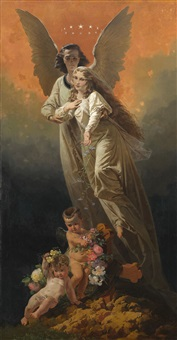 allegorical composition by mihály von zichy