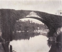 arched bridge by alphonse jeanrenaud