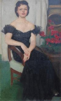 portret pani sch by alfons karpinski