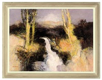 heron water, ettrick forest by john scorror o'connor