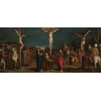 crucifixion with thieves by bartolome (carducho) carducci