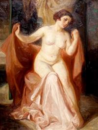 the artist's muse by giorgios (gounaro) gounaropoulos