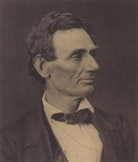 portrait of abraham lincoln by george b. ayres