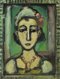 pierrette by georges rouault