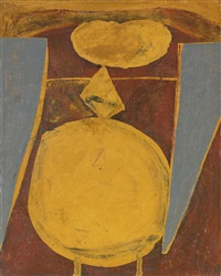 man in grey by robert motherwell