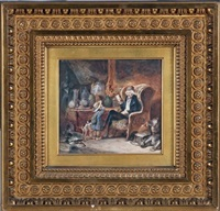 le vieil antiquaire et l'enfant by nicolas toussaint charlet