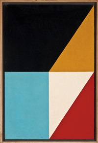 fractions #17 by frederick hammersley