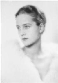 portret anieli mlynasrskiej - rubinsteinowej by jerzy benedykt (ph) dorys