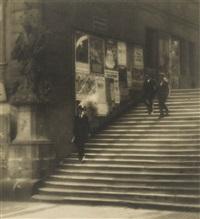 staircase of old prague by jaromir funke