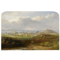 edinburgh (+ lake of menteith; pair) by henry g. duguid