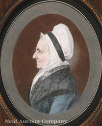 portrait of hannah church weld by james sharples