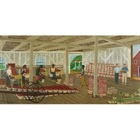 beekman's apple picking shed by henry thomas gulick