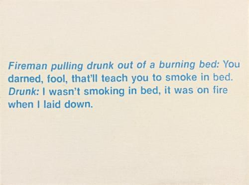 untitled (fireman joke) by richard prince