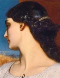 la nanna (sunny hours) by lord frederick leighton