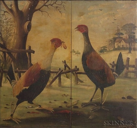 cock fight by anglo-american school (19)