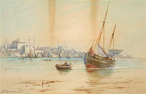 view of constantinople by joseph eaman