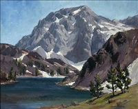 lake ellery - tioga pass by darwin duncan